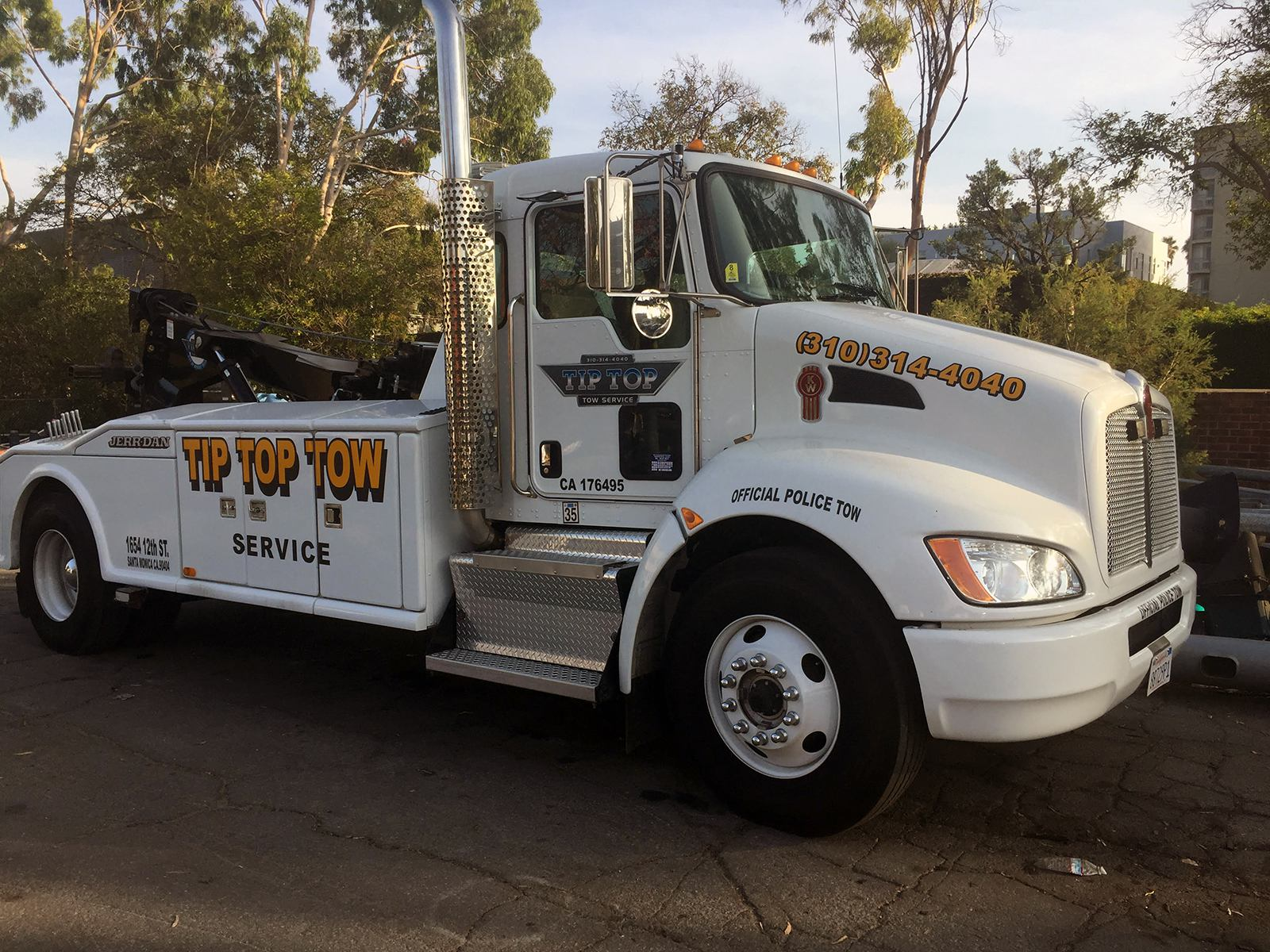 so you tip tow truck drivers